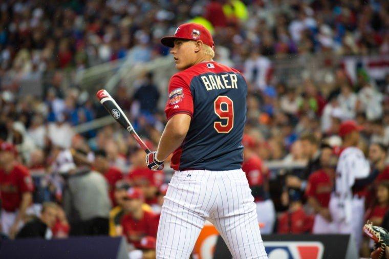 2014 Home Run Derby Luken Baker