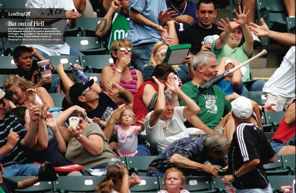 MLB bat throwing