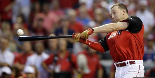 Todd Frazier's Home Run Derby Bat