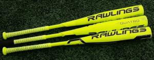 2017 Rawlings Quatro Bat Review