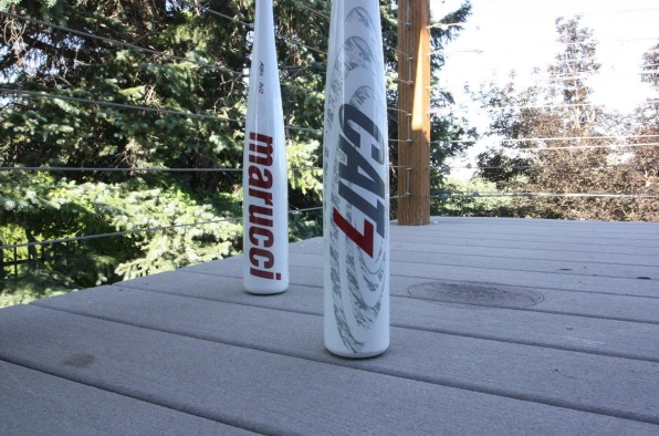 Cat 7 vs. Slugger 618 Solo vs. DeMarini Voodoo Balanced