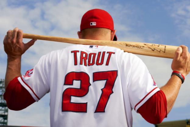 Mike Trout's Bat