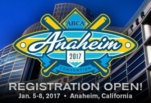 Baseball Coaching Clinic | Plans for Attending the 2017 ABCA Convention