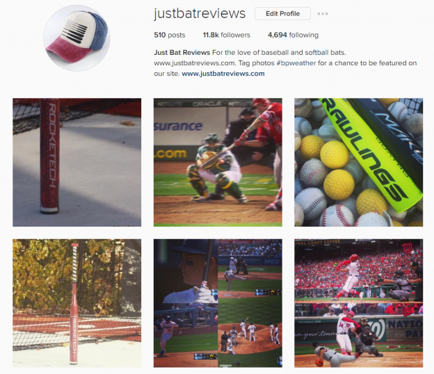 Best Baseball BAt Instagram Account