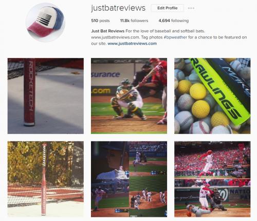 Best Baseball BAt Instagram Account