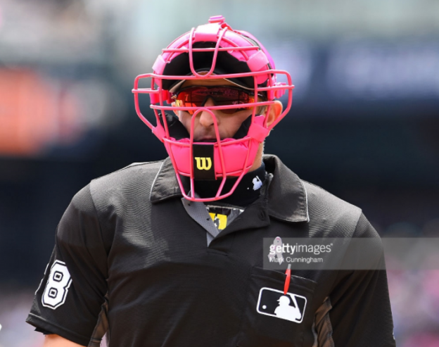 Mother's Day Catcher's massk umpire