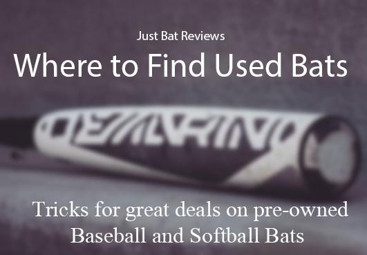 Used Baseball Bats