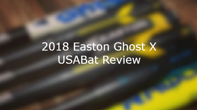2018 Easton Ghost X USABat Review