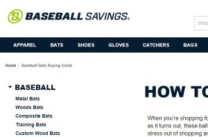 Baseball Buying Guide