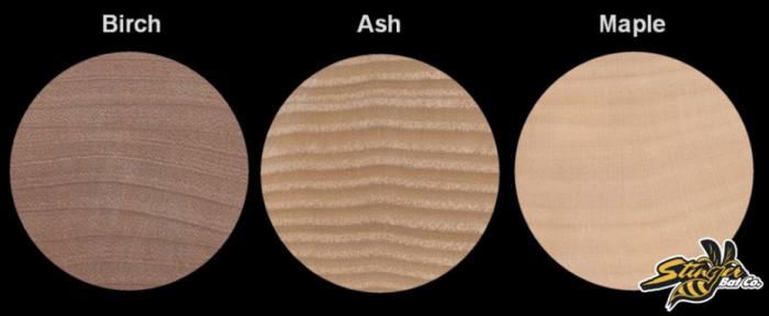 Ash Wood BAts