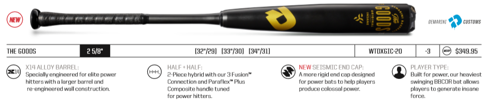 2020 DeMarini The Goods Review