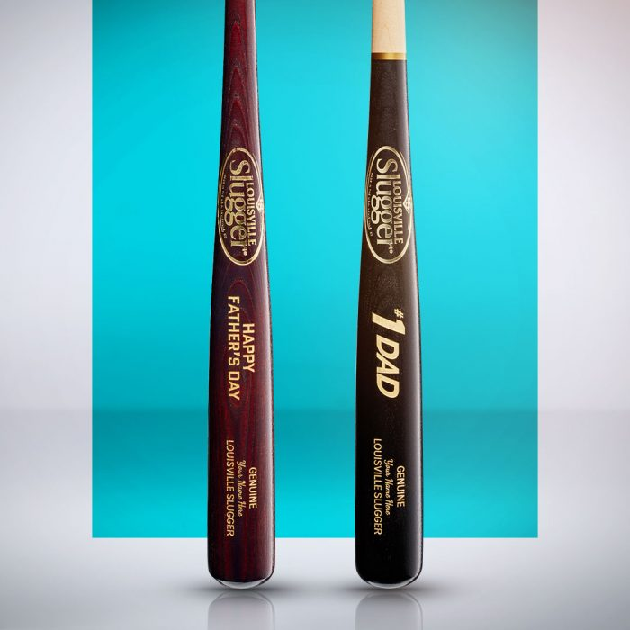 2020 Custom Slugger Wood Bats Father's Day